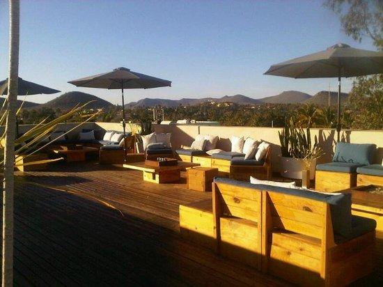 Hotel Casa Tota : roof top terrace