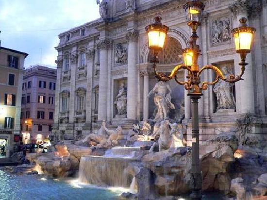 Trevi Fountain: La fontaine au voeux