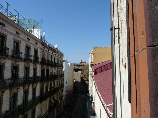 Hostal La Terrassa: View from balcony room 201