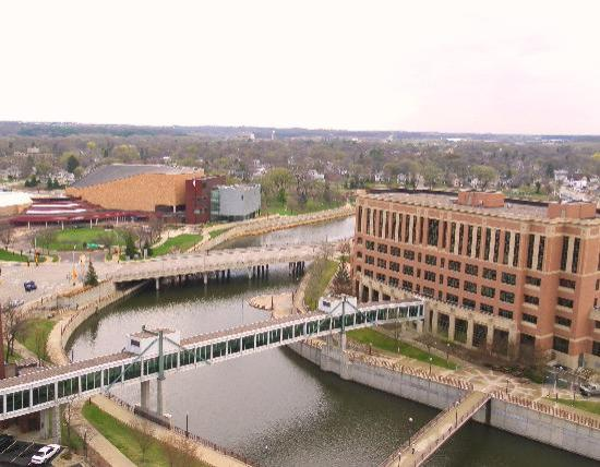 Holiday Inn Rochester Downtown: River View