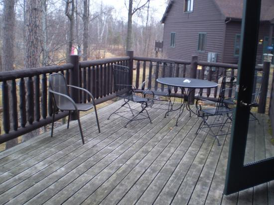 Grand View Lodge: Deck