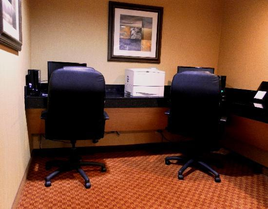 Holiday Inn Rochester Downtown: 24 Hour Business Center