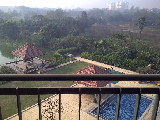 Radisson Blu Dhaka Water Garden : pool view