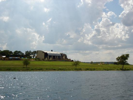 Rough Creek Lodge: View from Mallard Lake