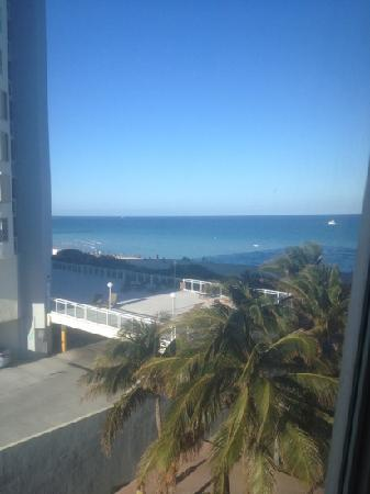 Crystal Beach Suites & Health Club: view from our room