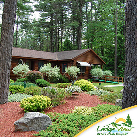 Ledgeview Village RV Park: Adirondack Freshness