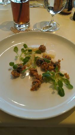 Lacroix at The Rittenhouse: chicken fried escargot