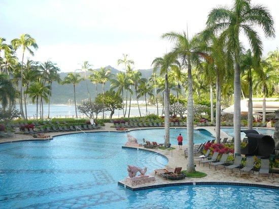 Kaua'i Marriott Resort: great pool