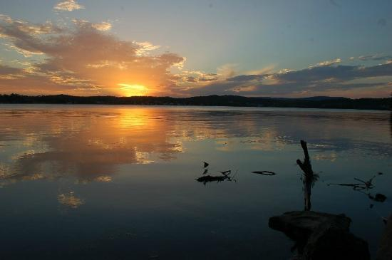Lake Macquarie: Sunset from Speers Point