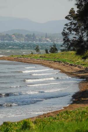 Lake Macquarie: Green Point view