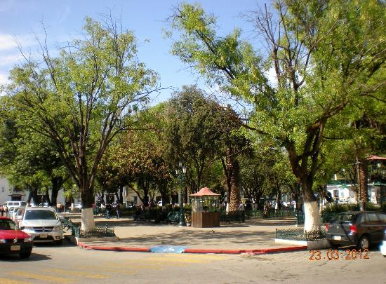 Templo del Carmen: Main plaza known as Zocalro