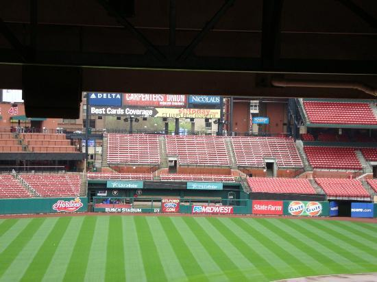 Cardinals Club Picture Of Busch Stadium Saint Louis Tripadvisor