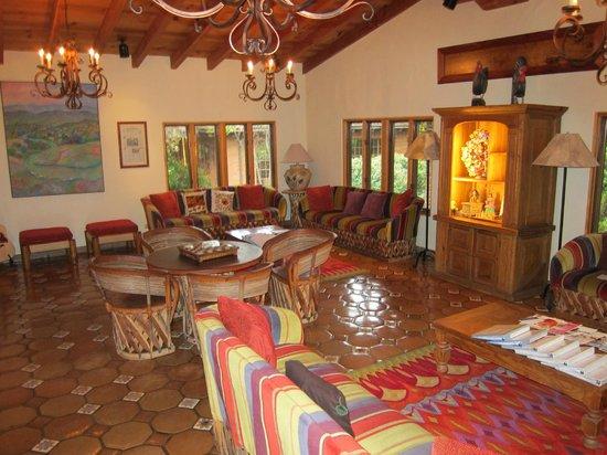 Rancho La Puerta Spa: Lounge with free WiFi.