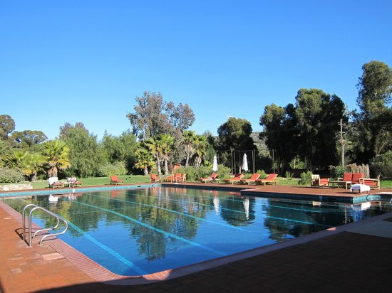 Rancho La Puerta Spa: Warm Activity pool.