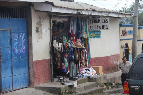 Terramaya: shopping in town.