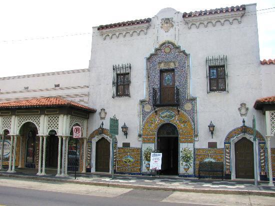 Gorgeous Spanish architecture - Picture of Columbia Restaurant ...