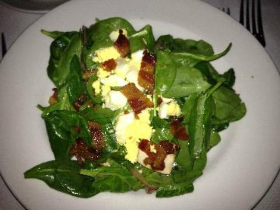 Capital Grille-Seattle: Spinach salad