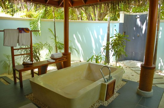 Anantara Dhigu Maldives Resort: Bathroom