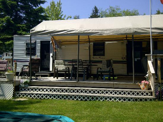 Edgewater Family Campground: Our Summer home on West Lake, Picton Ontario