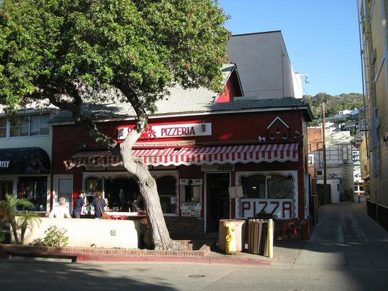 Antonio's Original Pizza: View from the street...