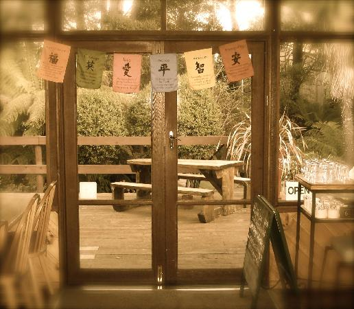 Secret Buddha Cafe: secret doorway