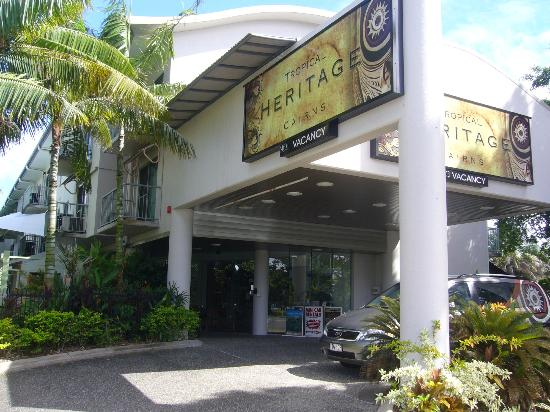 Tropical Heritage Cairns: Heritage Cairns Entrance