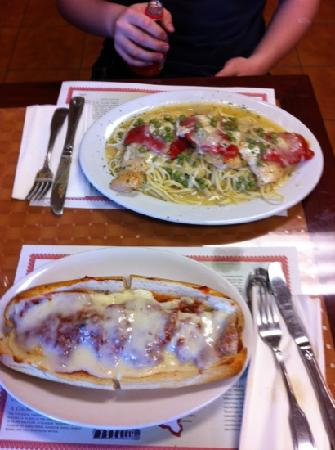 Nonna's brick oven pizzeria & restaurant: authentic dinners and great sandwiches