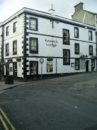 The Royal Oak at Keswick: Outside of the Inn