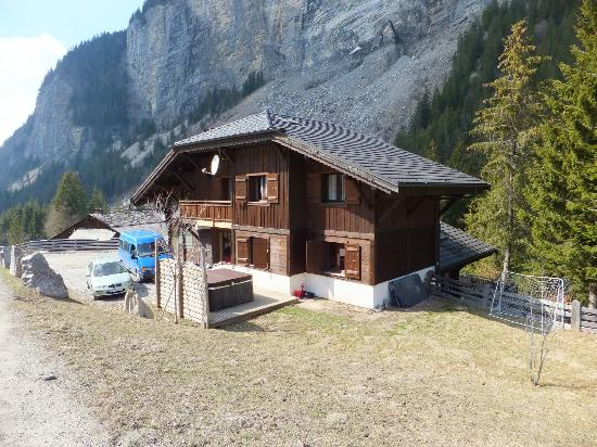 Chalet Alice from the road.