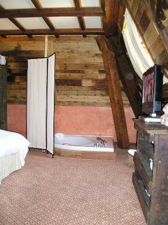 Grand Hotel des Alpes: Vasca idromassaggio nella Suite Ancienne Tour