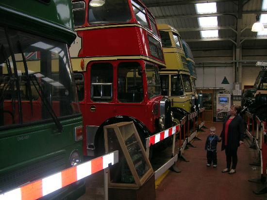 Wirral Transport Museum: old wirral buses