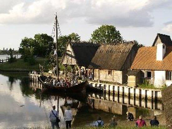 Guldborg, Danimarca: Middelaldercentret havn