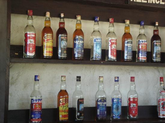 Diani Sea Lodge : Les boissons locales