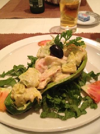 Hotel Palm Beach: cravette e avocado