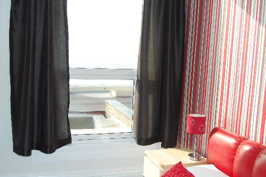 The Bromley: wonderful sea view from our newly renovated room 6