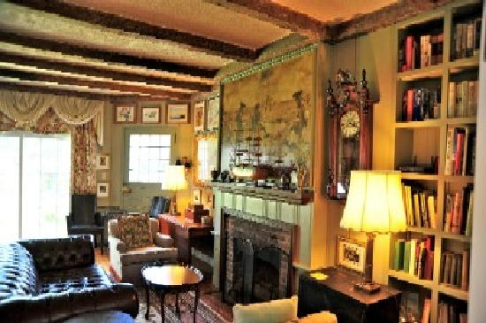 Kingsbrae Arms Relais & Chateaux: Library Lounge
