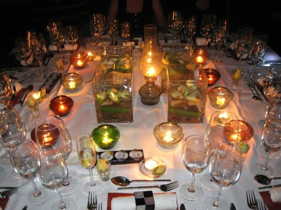 Le Planteur: our beautifully decorated table