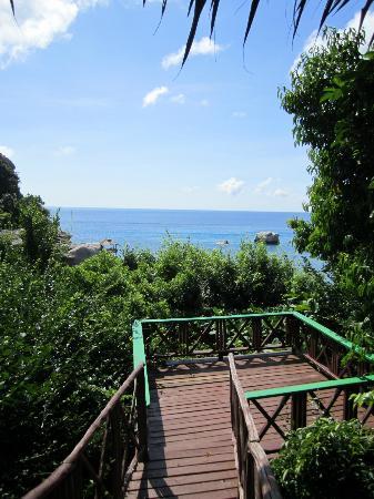 Charm Churee Villa: our own sunbathing platform