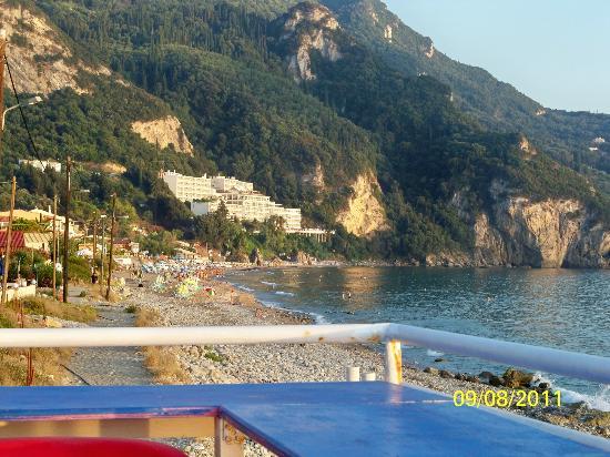 The Pink Palace: dalla terrazza sullla spiaggia