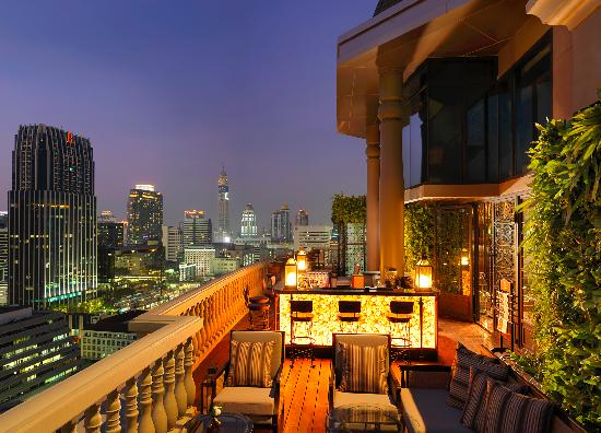 Hotel Muse Bangkok Langsuan - MGallery Collection : Terrace at The Speakeasy