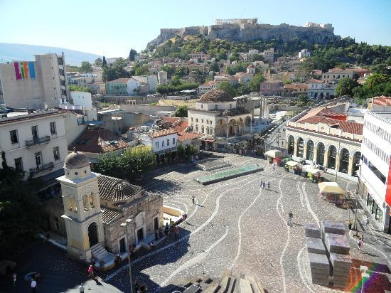 A for Athens: Vue sur la place Monastiraki