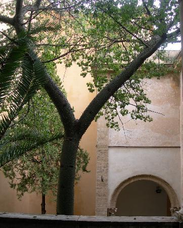 Oratorio di Santa Cita : Innenhof des Oratorio