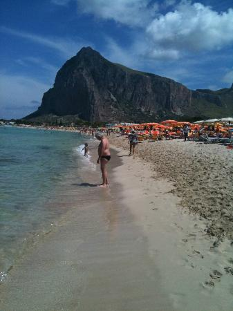 Spiaggia di San Vito lo Capo: la spiaggia!!
