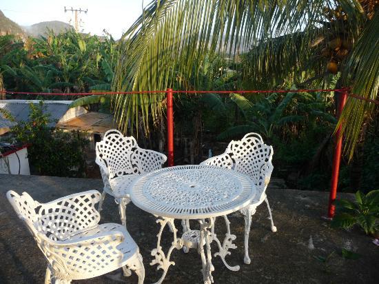 Villa Jorge y Ana Luisa : terrasse