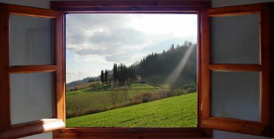 Pergolato di Sotto: Your windows on Chianti