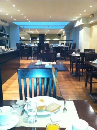Athens Lycabettus Hotel: sala colazione
