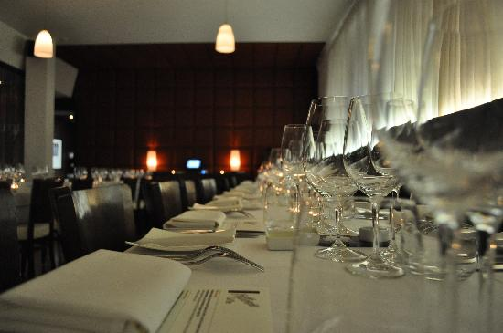 Auge Ristorante : Ready for service!