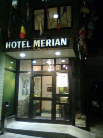 Facciata dell'Hotel Merian
