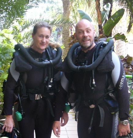 Diving Center Sun Sub: Madeleine & Torsten