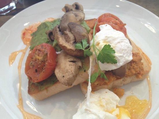 Bill's Restaurant: Vegetarian Breakfast at Bill's